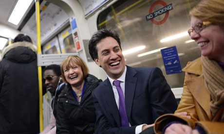 Ed Miliband in Brixton