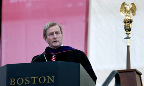 Enda Kenny Boston College