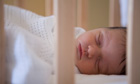 Sudden infant death risk greater when parents share bed with babies