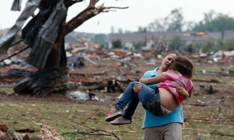 Oklahoma tornado: at least 51 people killed as mile-wide storm hits Moore