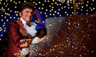 Michael Douglas as Liberace in a film still from Behind the Candelabra