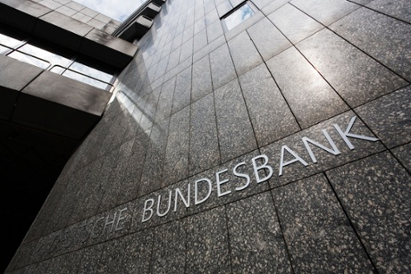 Bundesbank, German Federal Bank facade.