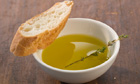 A dish of olive oil