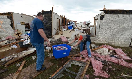 Fema uses 'Waffle House index' to take stock of Oklahoma tornado disaster