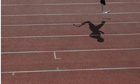 Oscar Pistorius's shadow cast on the track