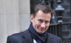 Jeremy Hunt under fire over GP reforms: Politics live blog