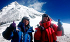 Mount Everest climbers
