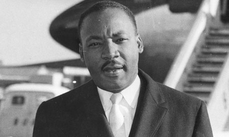 Martin Luther King unmoved by death threats - from the archive, 24 May 1961