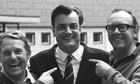 Eddie Braben, centre, with Morecambe and Wise. Photograph: The Graham Stark Photographic Library/Getty Images