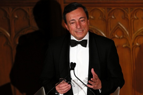 ECB president Mario Draghi says European needs a more European UK as much as the UK needs a more British Europe.