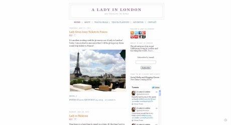 A Lady in London