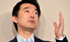 Toru Hashimoto, mayor of Osaka, caused outrage by calling 'comfort women' a wartime necessity