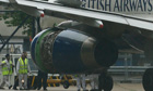 BA passenger jet technicians