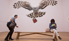 A Good Day for Cyclists by Sarah Tynan in Jeremy Deller's British pavilion at Venice Biennale