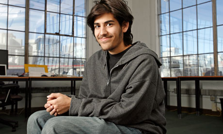 Aaron Swartz: hacker, genius… martyr?  He faced a fine of up to $1m and 35 years in jail. Then he took his own life. Here, his former girlfriend talks about the circumstances of his death