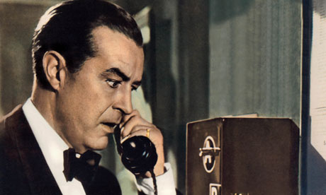Ray Milland in Dial M for Murder