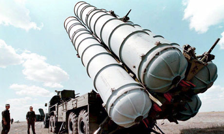 An S-300 missile