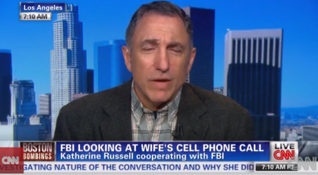 Former FBI counterterrorism agent Tim Clemente, on CNN, discussing government's surveillance capabilities Photograph: CNN screegrab