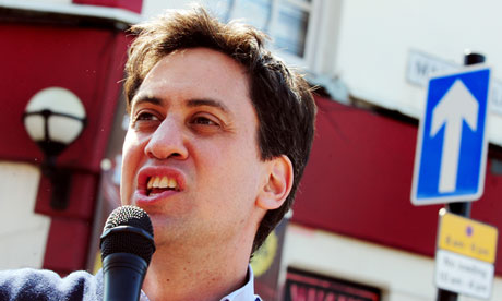 Ed Miliband in Long Eaton