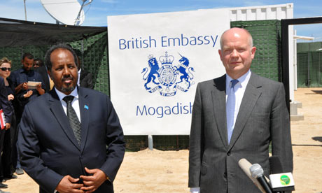 Britain Re-Opens Embassy In Somalia