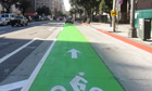 Los Angeles bike lane