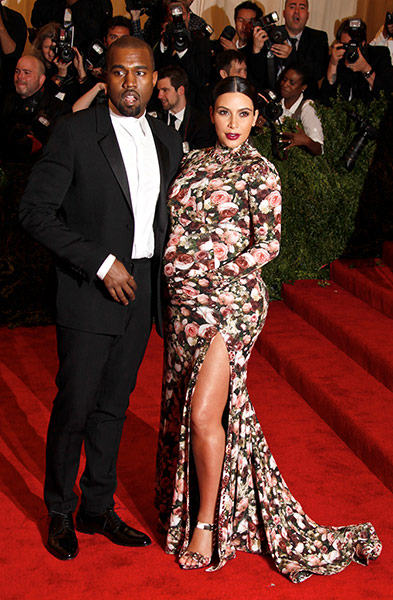 met ball  MET BALL 2013 | WHO WORE WHAT Kim Kardashian 004