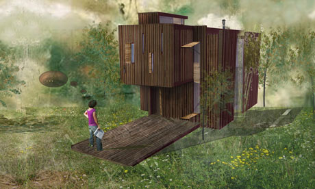 Artist's impression of the Deckhouse
