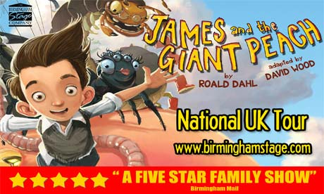 Extra James and the Giant Peach