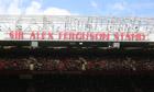 Alex Ferguson stand