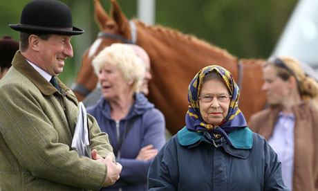 Queen at the Royal Windsor Horse Show