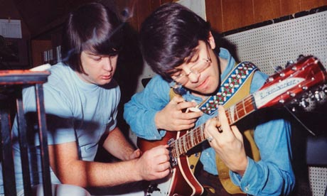 'I walked away from that funhouse' … Van Dyke Parks with Brian Wilson.