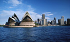 Sydney Opera House and City Skyline