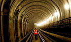 London Overground worker Thames tunnel