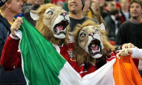 2013 British and Irish Lions Tour - NSW-Queensland Country v British & Irish Lions - Hunter Stadium