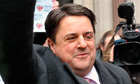 BNP leader Nick Griffin arrives in Syria after invitation from Assad regime