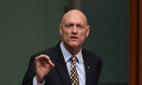 Education minister Peter Garrett during question time.