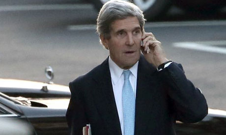 Secretary of state John Kerry. Photograph: Win McNamee/Getty