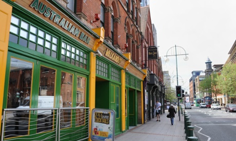 The Walkabout bar on Broad Street, Birmingham.