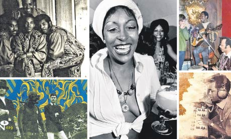Clockwise, top left: Four Mint, Light on the South Side, Willie Wright, Eccentric Soul and Pisces.