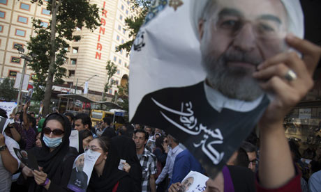 Iranians to vote for new president as campaign finally takes off