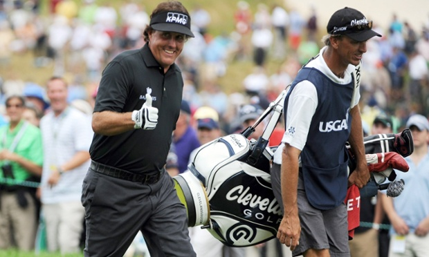Phil Mickelson opened with a strong 67.