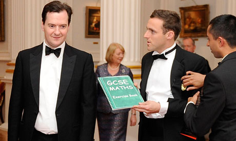 Chancellor George Osborne confronted by BBC presenter at Mansion House banquet in the City of London
