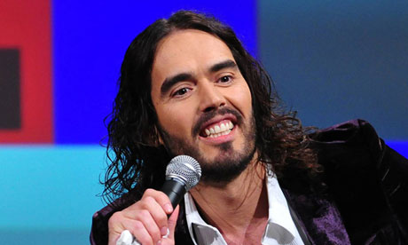 Russell Brand is a proudly scurrilous wordsmith
