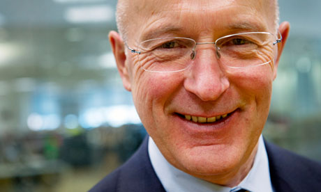 Sir Philip Hampton, chairman of RBS