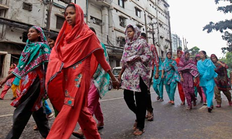 Bangladeshi workers sickened
