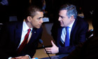 Obama and Brown at G20