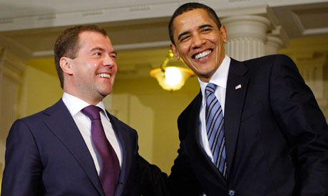 Barack Obama, Dmitry Medvedev