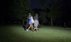 President Barack Obama,Michelle Obama and their daughter Malia walk to Marine One as they depart the White House in the early hours
