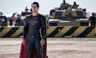 Man of Steel, with Henry Cavill as Superman