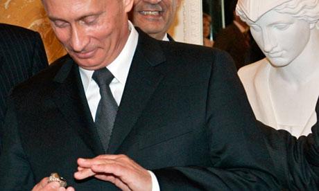 Putin Super Bowl ring